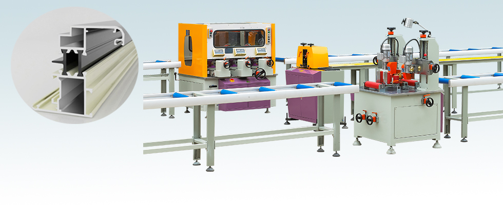 Thermal Break Assembly Machine(Three Steps)