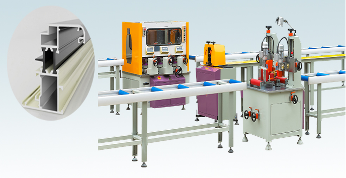 Thermal Barrier Strip Inserting Machine